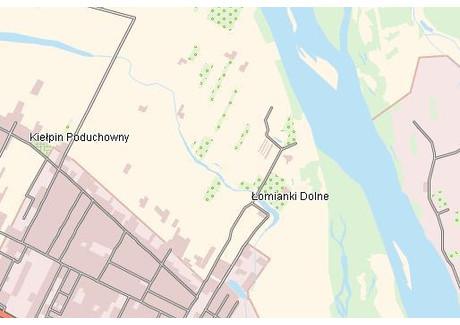 Działka na sprzedaż - Łomianki Dolne, Łomianki, Warszawski Zachodni, 3436 m², 778 000 PLN, NET-50589
