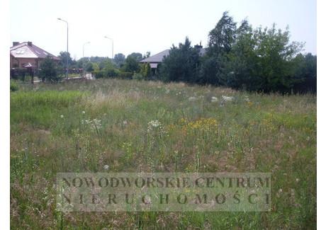 Działka na sprzedaż - Nowy Dwór Mazowiecki, Nowy Dwór Mazowiecki, Nowodworski, 1233 m², 147 960 PLN, NET-570/251/ODzS