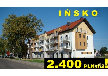 Mieszkanie na sprzedaż - Ińsko Bohaterów Warszawy 36B Ińsko 80km Od Szczecina, Łobez, Łobeski, 33,2 m², 79 680 PLN, NET-IM1lob