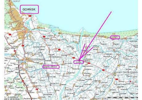 Działka na sprzedaż - PRZYLEGA DO E7, trasa na Warszawę Kiezmark, Cedry Wielkie, Gdański, 11 000 m², 869 000 PLN, NET-KL01312
