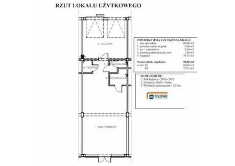 Lokal do wynajęcia - Rzeszów, 98,89 m², 435 116 PLN, NET-27540620