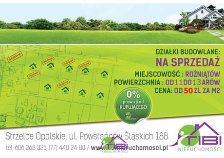 Działka na sprzedaż - Rożniątów, Strzelce Opolskie, Strzelecki, 1304 m², 65 200 PLN, NET-TBI-GS-217