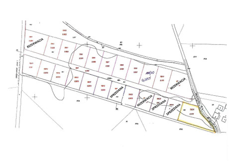 Działka na sprzedaż - Niewodniki, Dąbrowa, Opolski, 1778 m², 79 000 PLN, NET-WIT-GS-705