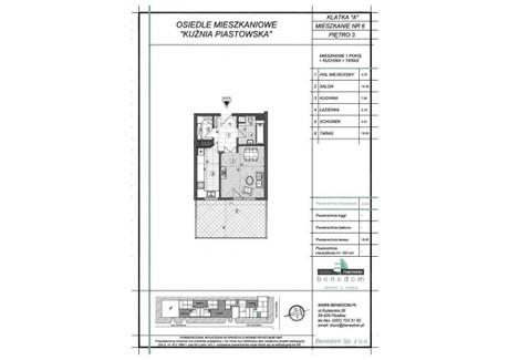 Mieszkanie na sprzedaż - ul. Sowińskiego Warszawa, Piastów, pruszkowski, 36,98 m², inf. u dewelopera, NET-3A6