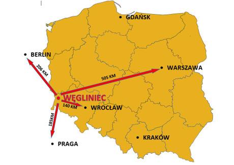 Działka na sprzedaż - Węgliniec, Zgorzelecki, 56 700 m², 2 097 900 PLN, NET-17281